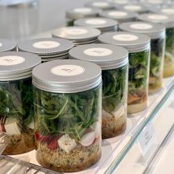 Salades en verrines