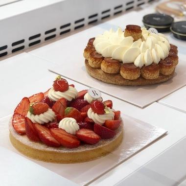 Pâtisseries à partager