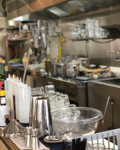 Cuisine et bar