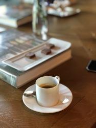 Café d'Éthiopie et chocolats